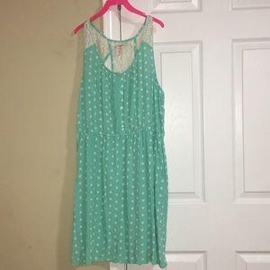 Beautiful Lime green mini dress